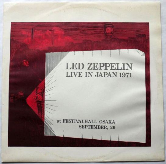 Led Zep Life  Japan 1971