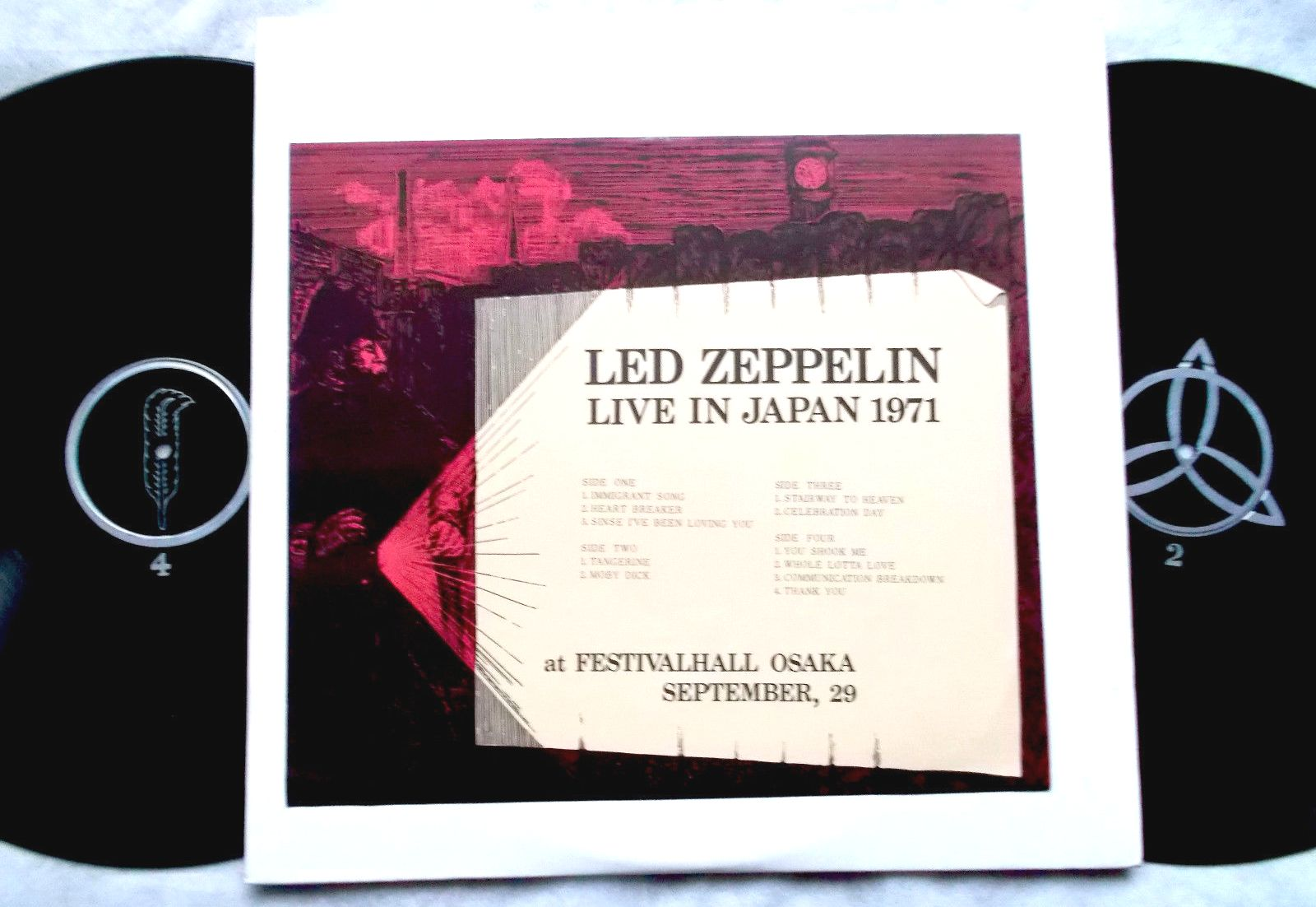 Led Zeppelin Osaka 1971 soundboard | THE AMAZING KORNYFONE LABEL