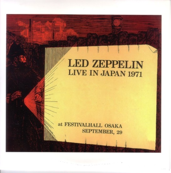 Led Zeppelin Live Japan 1971 c