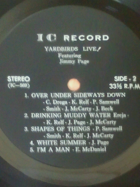 Yardbirds bl lbl