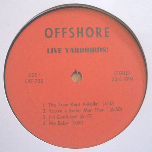 Yardbirds Offshore lbl