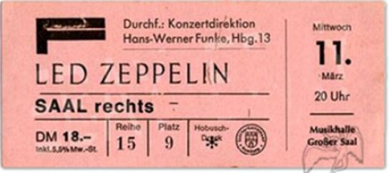 Led Zep Mar 11 70 HH