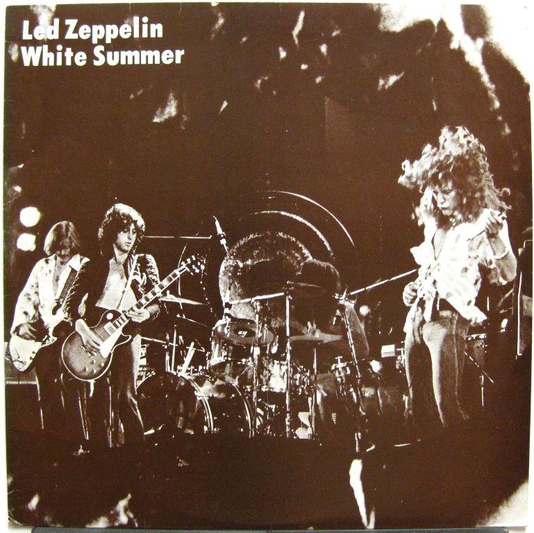 Led Zeppelin White Summer Marc Lz 76053 German Bootleg