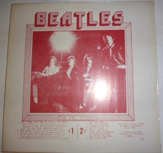 Beatles EMI Outtakes JL 531