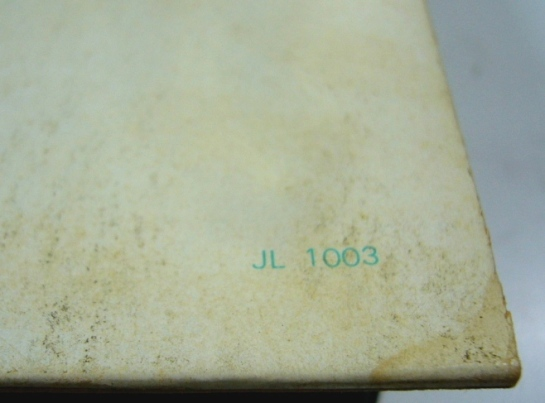 Beatles JL 1003 detail
