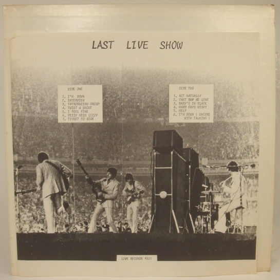 Beatles Last Live S