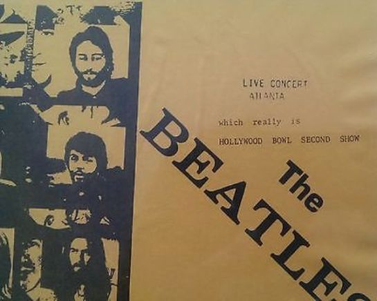 Beatles Live C Atlanta 3552 detail