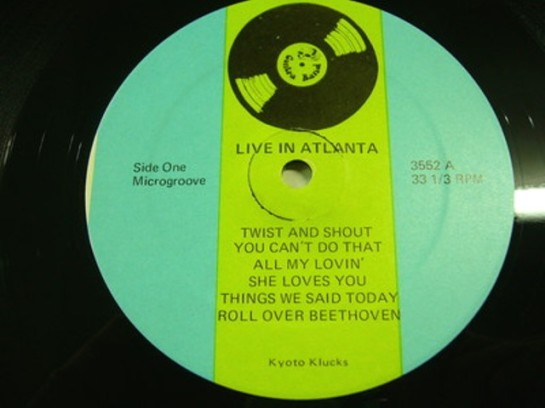 Beatles Live C Atlanta 3552 o lbl
