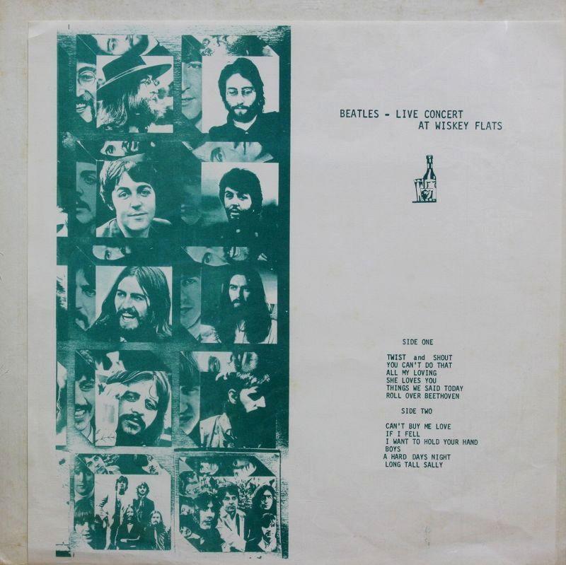 Beatles Live C Wiskey Flats