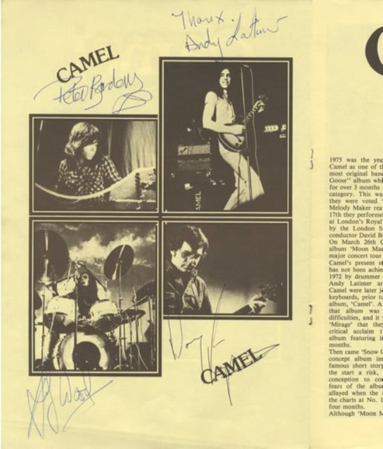 Camel Moonmadness-Tour 2