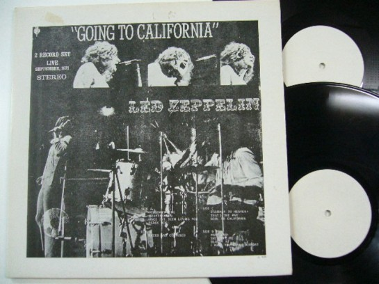 Led Zep Going To California 505