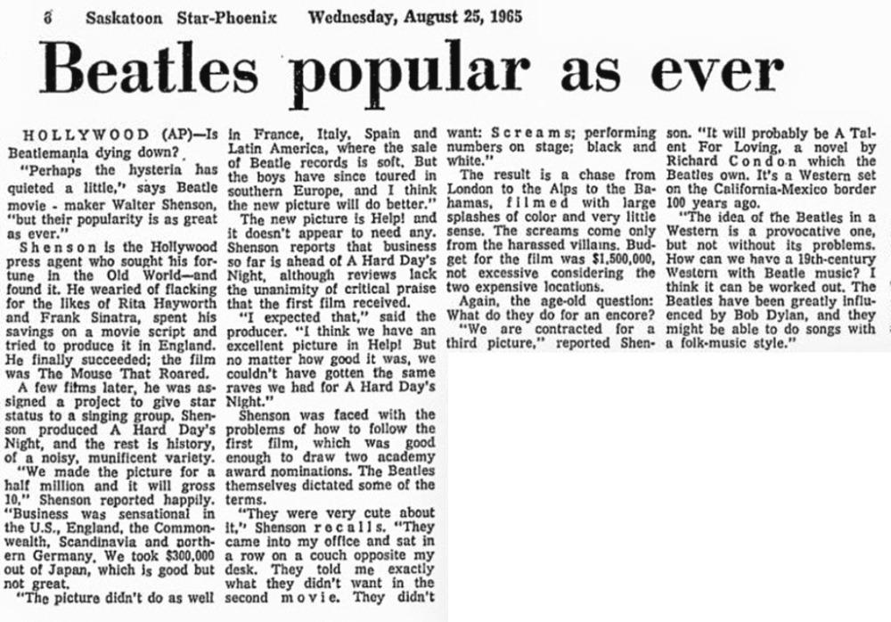 'THE BEATLES CONCIERTO EN MADRID 2 JULIO 1965' - Legal Bootleg. UPDATE: Now with ordering link (3/6)