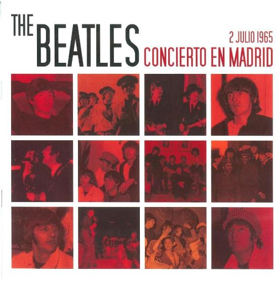 Beatles Madrid 65 cover