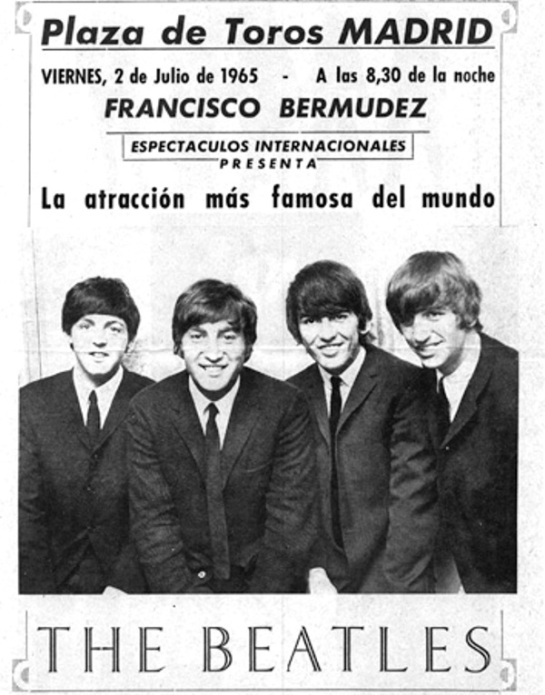 Beatles Madrid ad 2