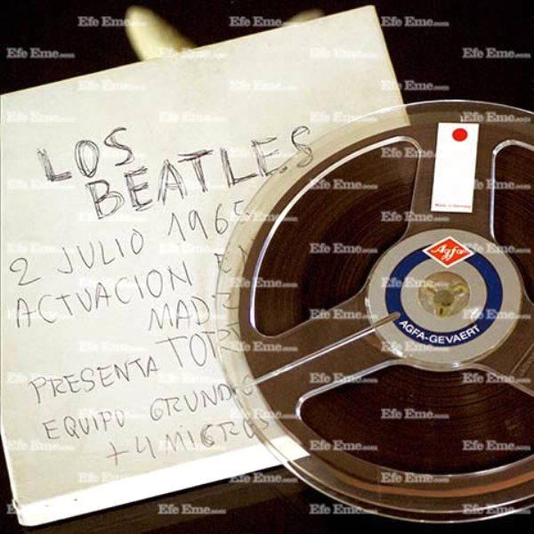 'THE BEATLES CONCIERTO EN MADRID 2 JULIO 1965' - Legal Bootleg. UPDATE: Now with ordering link (2/6)