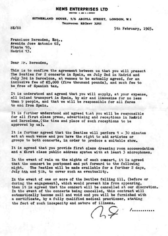 'THE BEATLES CONCIERTO EN MADRID 2 JULIO 1965' - Legal Bootleg. UPDATE: Now with ordering link (4/6)
