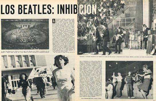 Beatles Spain 65
