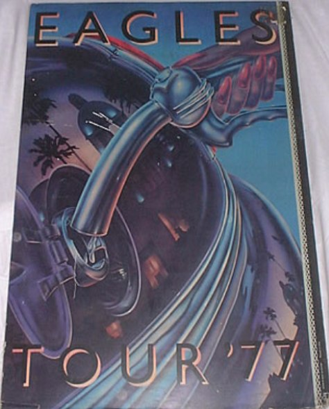 Eagles Tour 77 promo poster