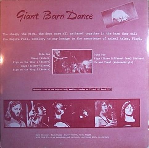 Pink Floyd Giant Barn Dance b