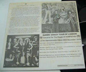 Queen Crazy Tour of London b