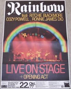 Rainbow 22 Okt 77
