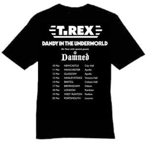 T Rex Damned. Tee