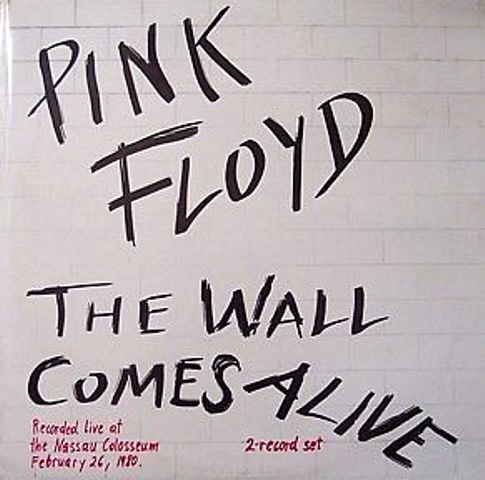 Japanese copies of a White Knight Pink Floyd title: 'THE