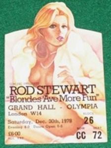 Rod Stewart London 78