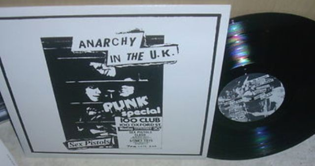 Anarchy sex pistols letras