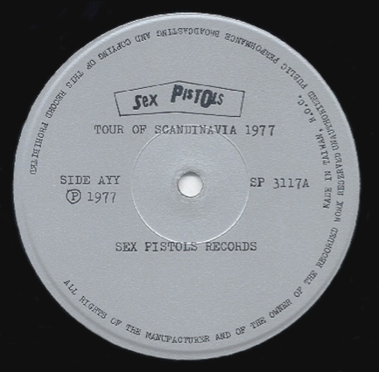 Sex Pistols ToScan SP lbl A