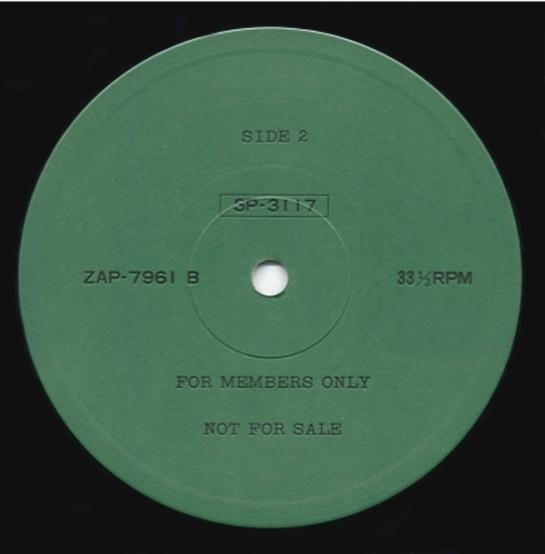 Sex Pistols ToScan ZAP lbl B