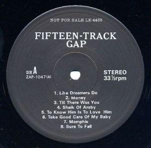 Beatles Decca Tapes J lbl