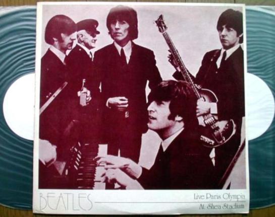 Beatles Live Paris Olympia Shea
