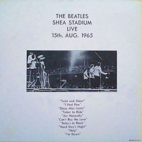 Beatles Shea Stadium ZAP 1071 b