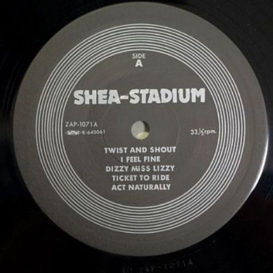 Beatles Shea Stadium ZAP 1071 lbl