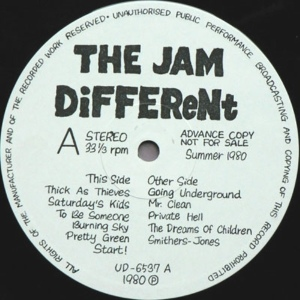 Jam DiFFEReNt lbl A