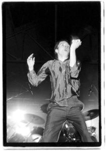 Joy Division. Leeds Futurama. Sept 79 ©Credit Kevin Cummins