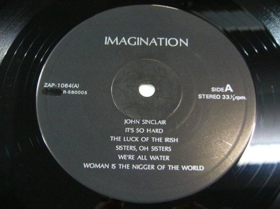 Lennon J Imagination ZAP 1064 label