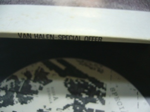 Van Halen Special Offer detail