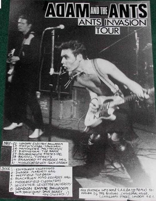 Adam atA AInvasion Tour