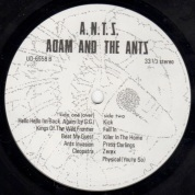 Adam & The Ants A.N.T.S. lbl 2