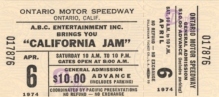 Cali Jam ticket