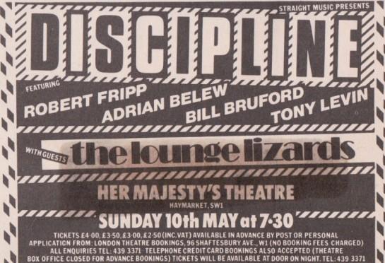 Discipline London 81 ad