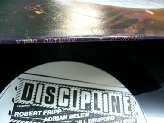 King Crimson Discipline det