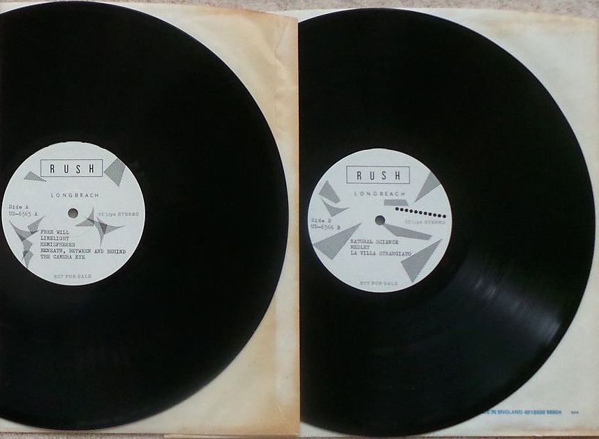 Rush and roulette vinyl