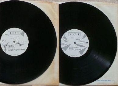 Rush Tom Sawyer discs