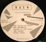 Rush Tom Sawyer lbl C