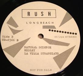 Rush Tom Sawyer lbl D