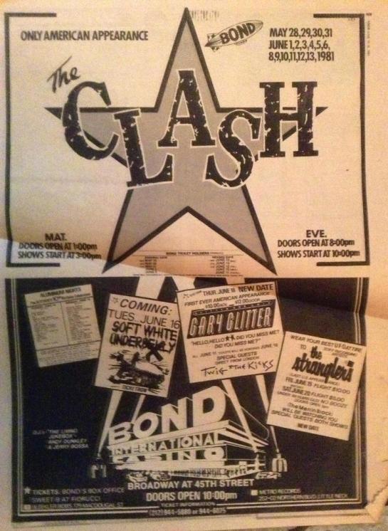 Clash Bond np ad