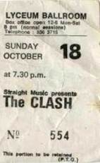 Clash Lyceum 81 ticket